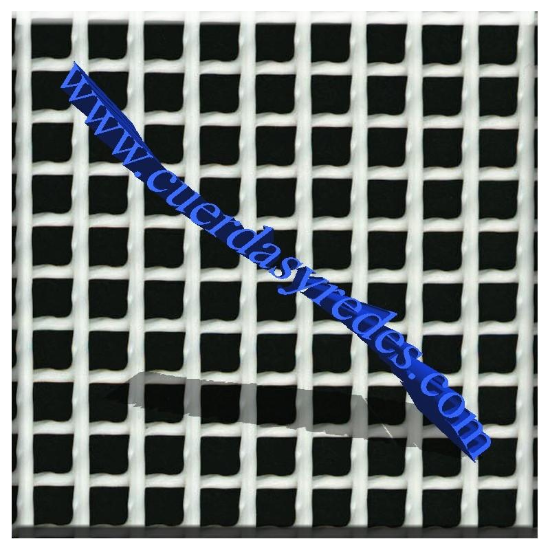 Malla Plástica Cuadrada, cuadro 1 cm.