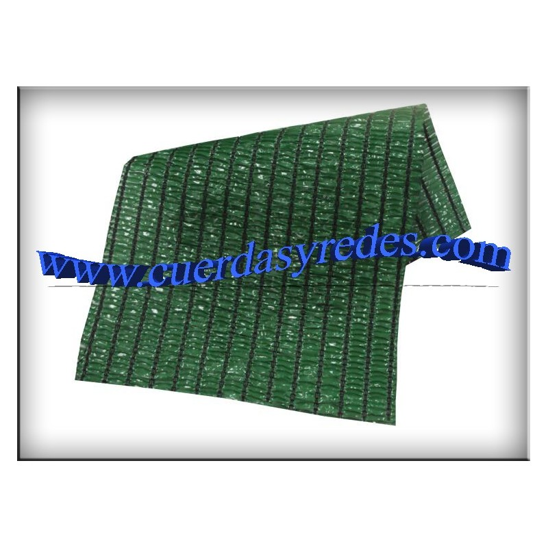 Malla Ocultacion 90%, 6x8'50 Verde