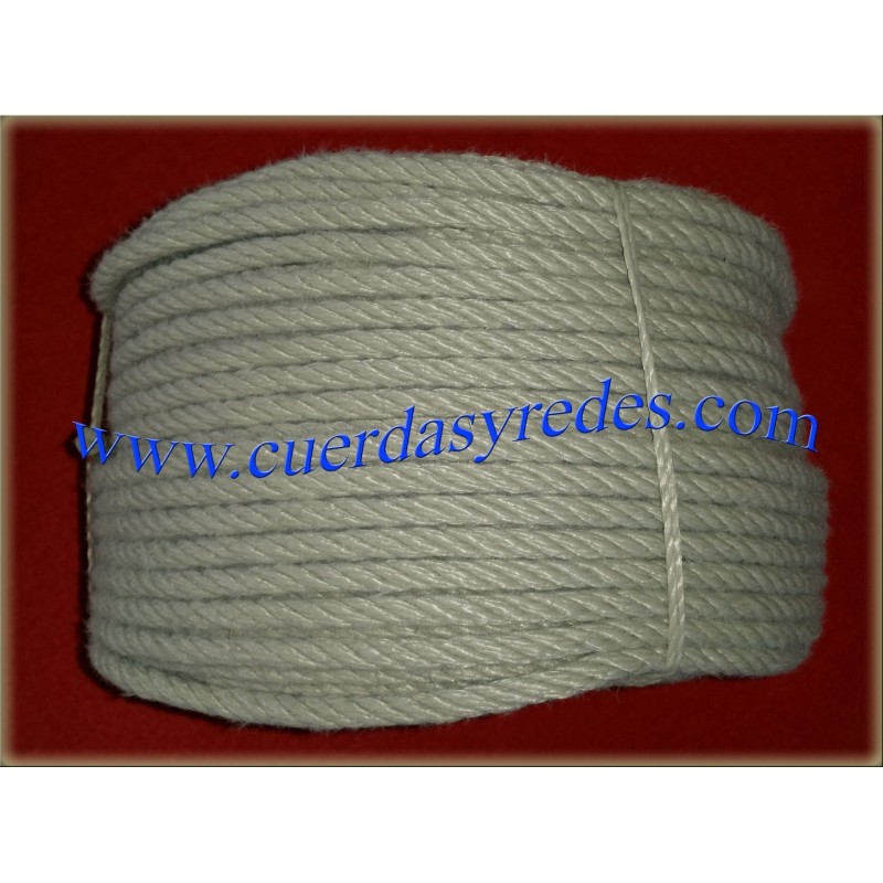 Cuerda Polipropileno Imitacion Canamo 12 mm100 mts