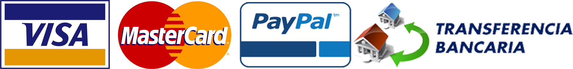 Visa-MasterCard-Paypal-TransferenciaBancaria