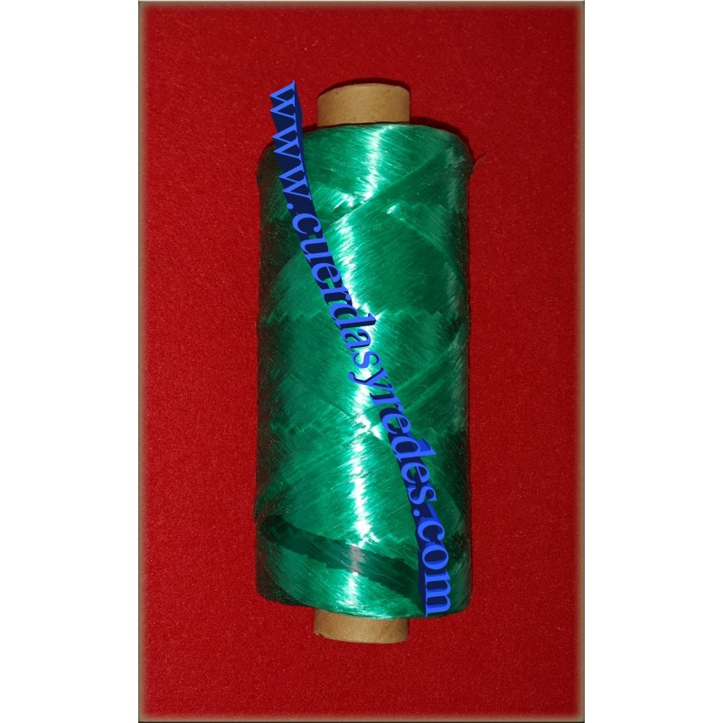 Cinta Rafia Plana 200 gms. Verde