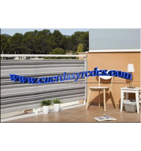 Malla para balcones calidad, 0'9x3 mts.