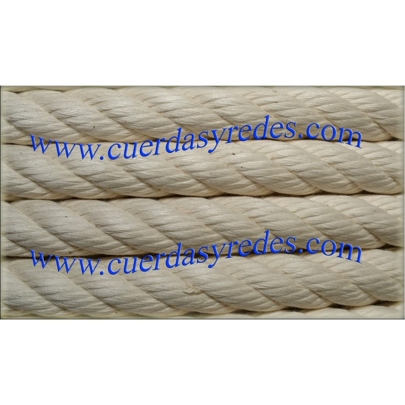 Cuerda 22 mm.100 mts. Crudo
