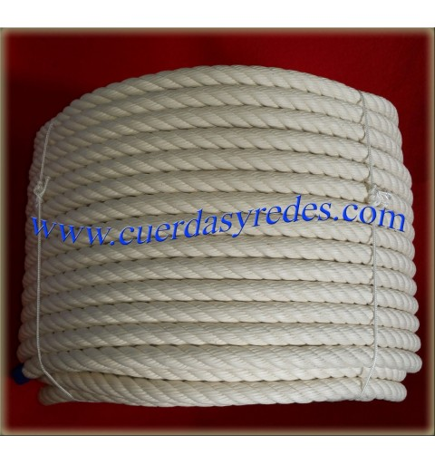 Cuerda 20 mm.100 mts. Crudo