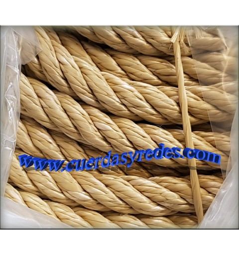 Cuerda 16 mm.100 mts. Beig