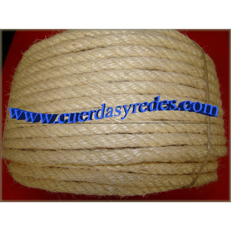 Cuerda 12 mm.50 mts. sisal