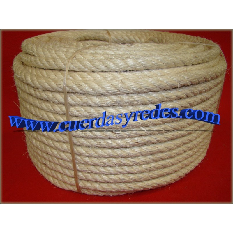 Cuerda 14 mm.50 mts. sisal
