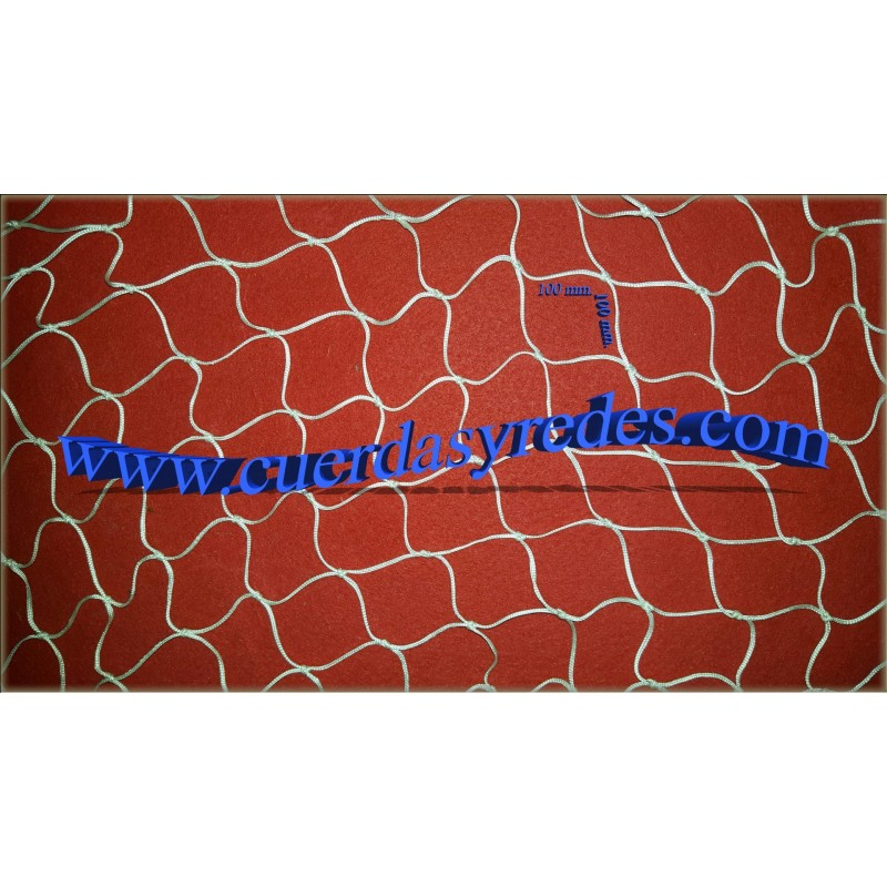 Red 3 mm.malla 100x100 mm. 3x5 mts. NY Blanca