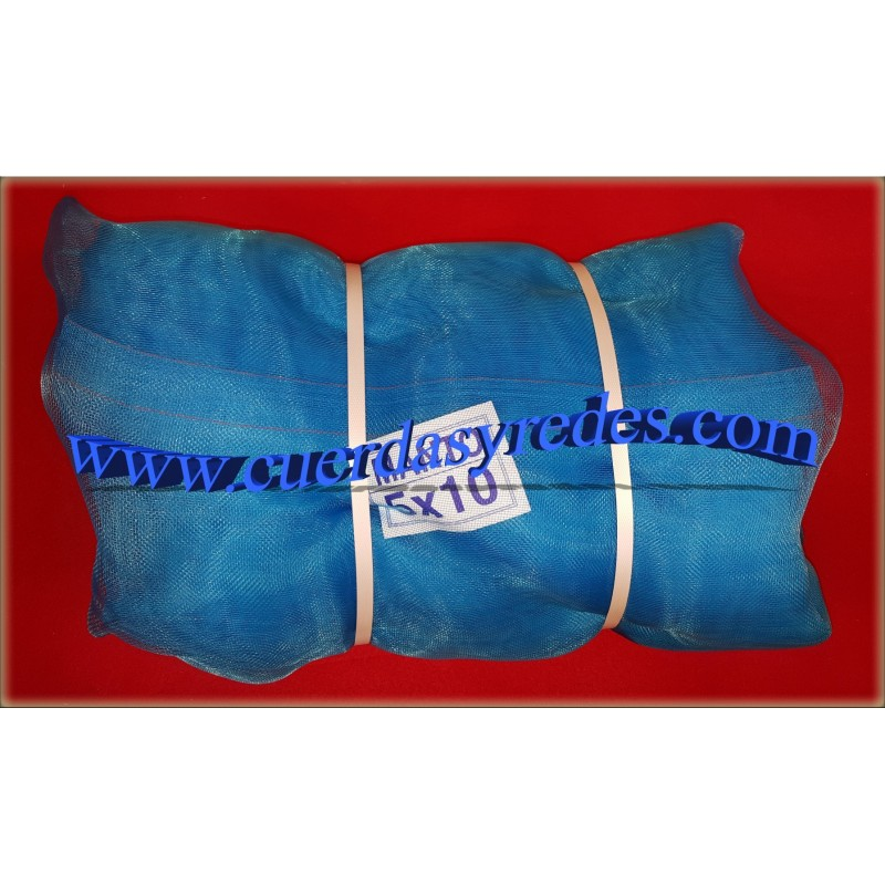 Malla andamios 6x16 azul