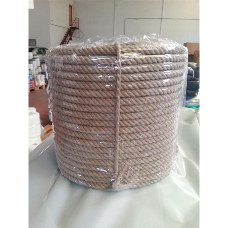 Cuerda 14 mm.100 mts. Lino