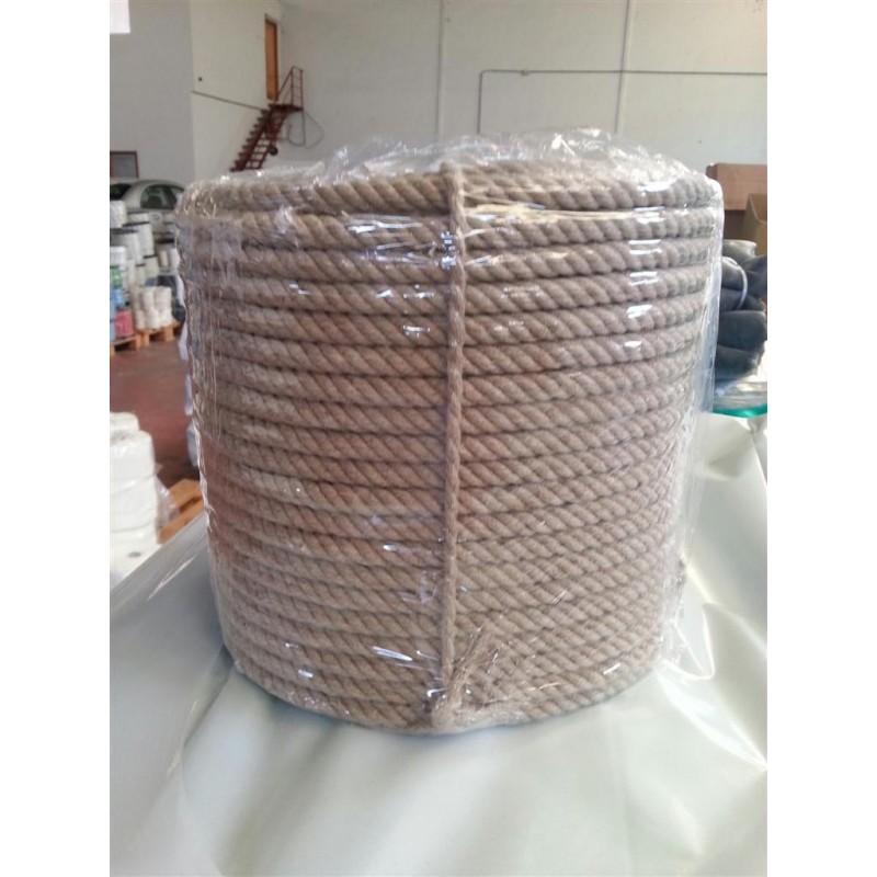 Cuerda 12 mm.100 mts. Lino