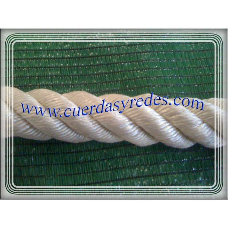 Cuerda polipropileno 30 mm.