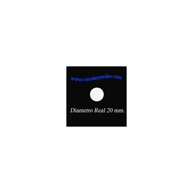 CUERDA POLYSTEEL 20 MM.1 MTS. BEIG (IMITACION SISAL)