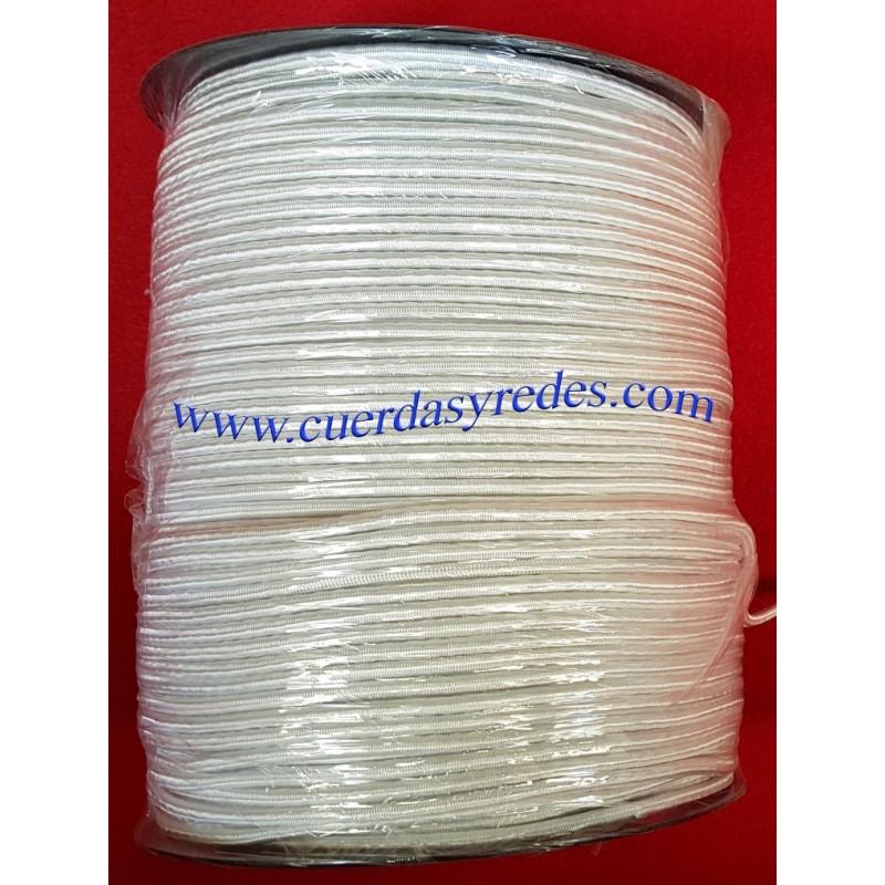 Cuerda Trenzada Elastica 4 mm.