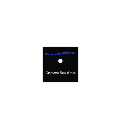 Granete Polipropileno 6 mm. Negro