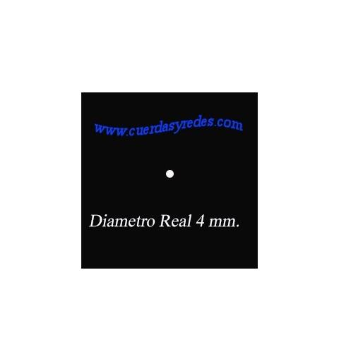 Granete Poliester 4 mm. Blanco