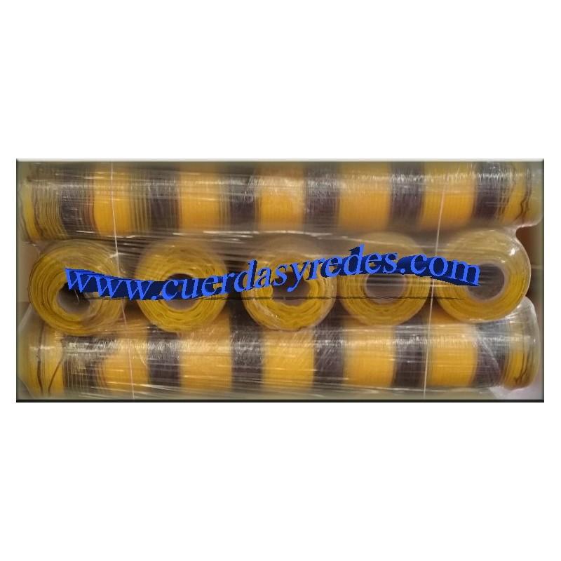 Malla Señalizacion Amarilla-Negra