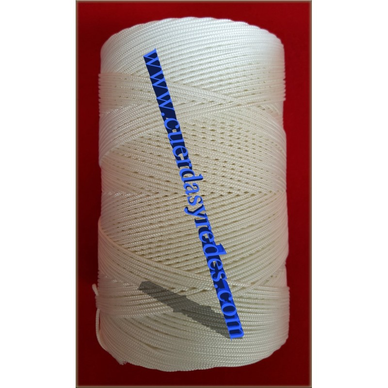 Hilo Trenzado 8841, 1 kg.blanco