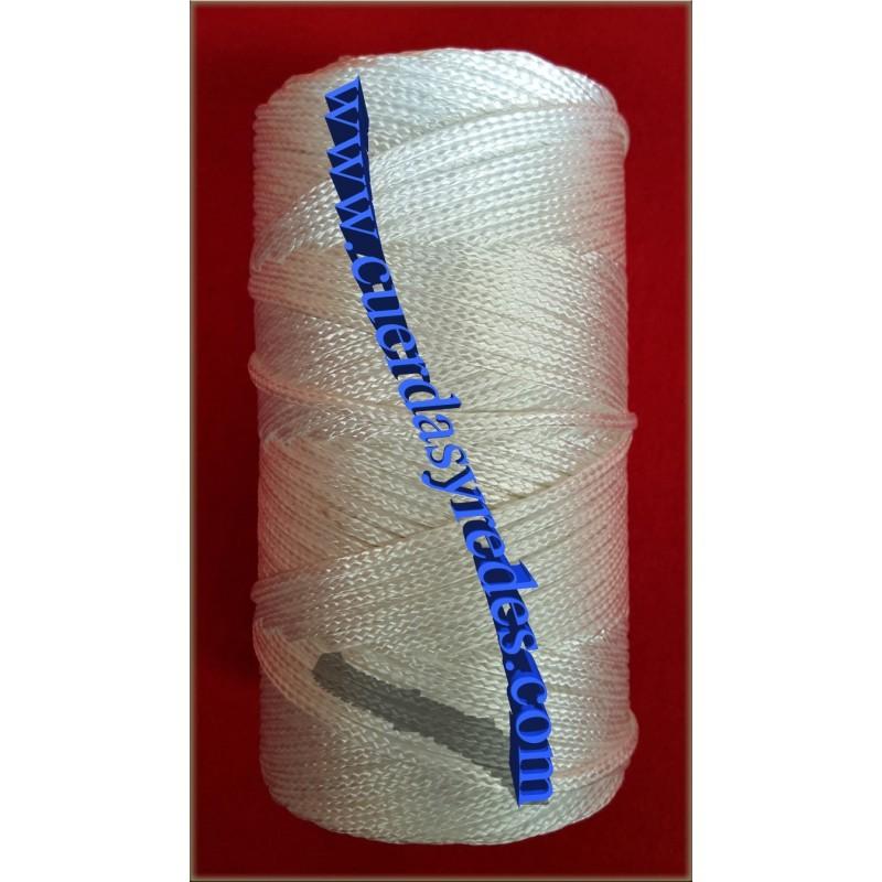 Hilo Trenzado 4840/3, 1 kg.blanco