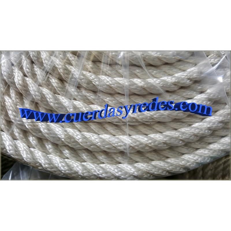 10 m Cuerda de algod/ón 8/hebras 10 mm