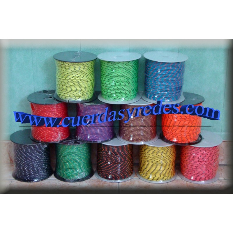 Riel 3 mm.100 mts. Colores